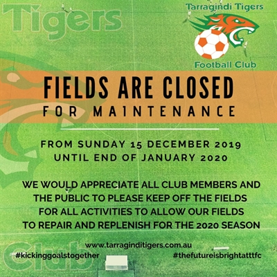 Fields closes 2020